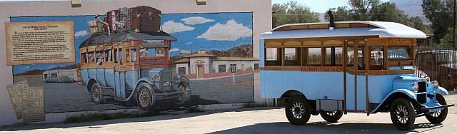 The Restored Hastie Bus At The Mural