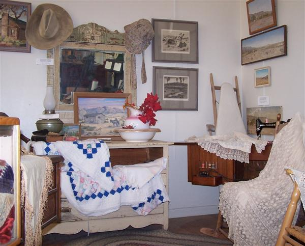 Homesteader exhibit
