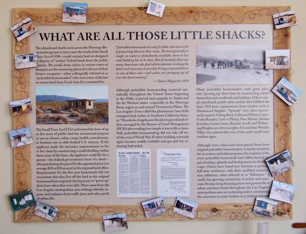 Jackrabbit Homestead exhibit