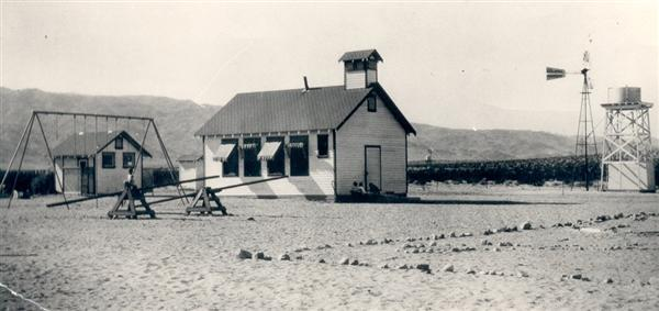 Old schoolhouse about 1929