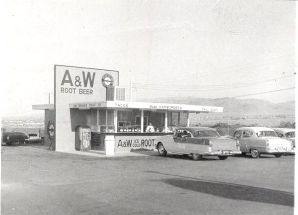 A&W Root Beer 29 Palms - ca 1960s