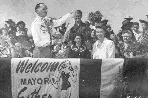 Esther Williams - Honorary Mayor - 1948