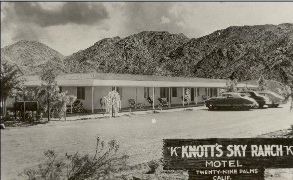 Knotts Sky Ranch Motel - 29 Palms - 1946
