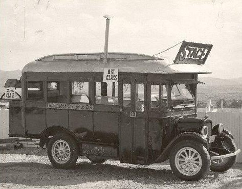 Original Hastie Bus - 29 Palms - 1957